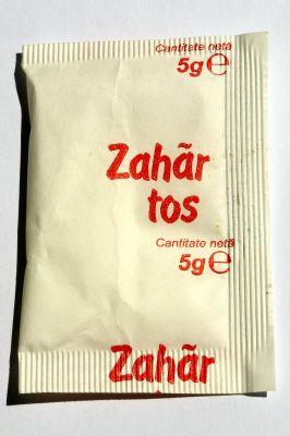 Zahăr tos